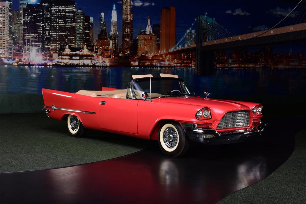 1957 CHRYSLER 300C CONVERTIBLE - Front 3/4 - 217888