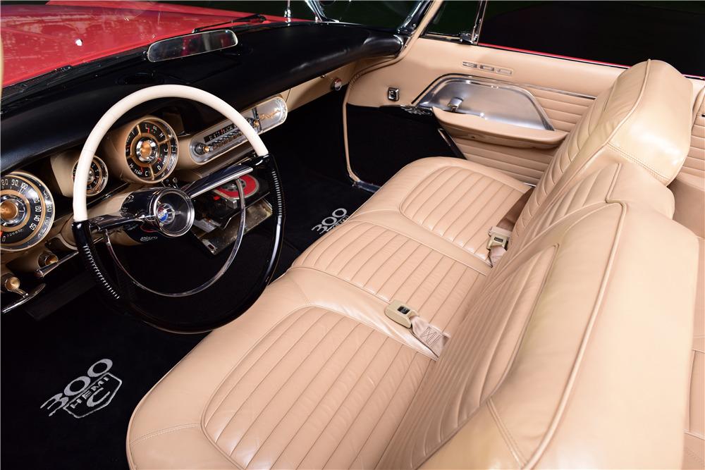 1957 CHRYSLER 300C CONVERTIBLE - Interior - 217888