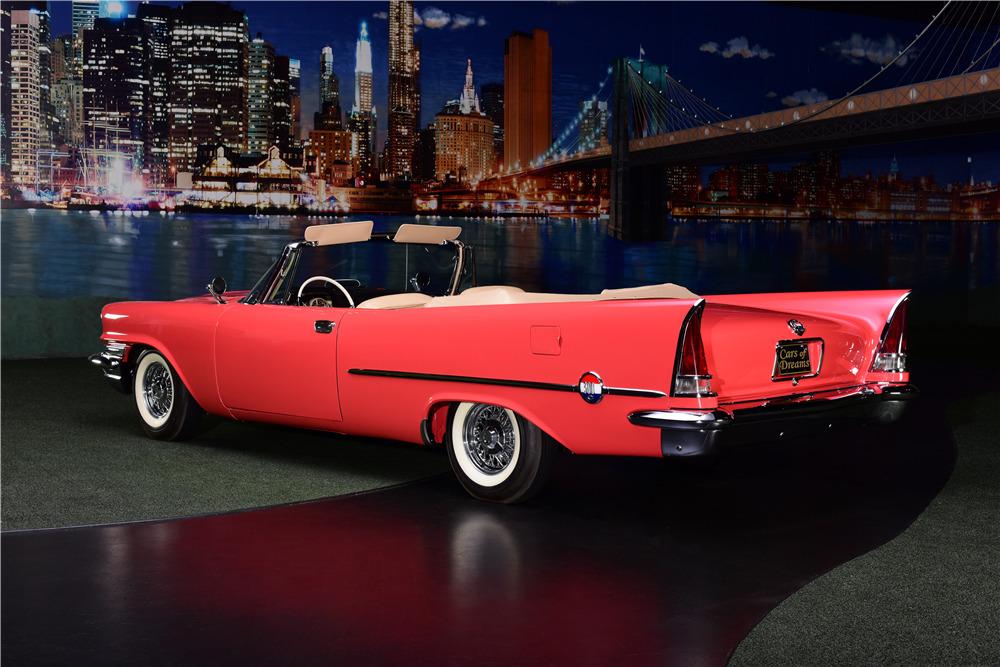 1957 CHRYSLER 300C CONVERTIBLE - Rear 3/4 - 217888