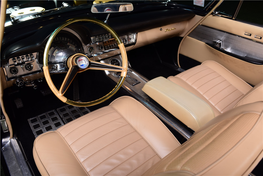 1960 CHRYSLER 300F CONVERTIBLE - Interior - 217889