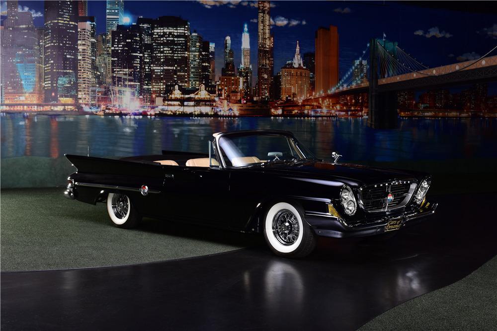 1961 CHRYSLER 300G CONVERTIBLE - Front 3/4 - 217890