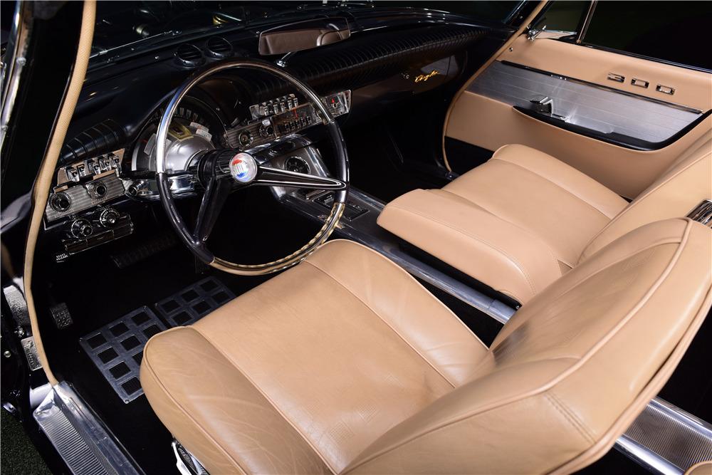 1961 CHRYSLER 300G CONVERTIBLE - Interior - 217890