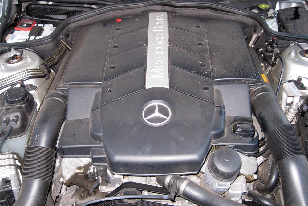 2004 MERCEDES-BENZ SL500 - Engine - 217925