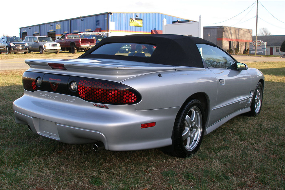 2002 PONTIAC TRANS AM WS6 CONVERTIBLE - Rear 3/4 - 217957