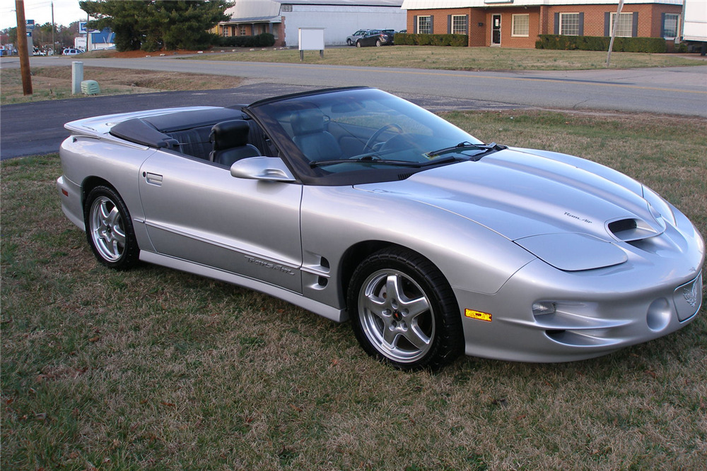 2002 PONTIAC TRANS AM WS6 CONVERTIBLE - Side Profile - 217957