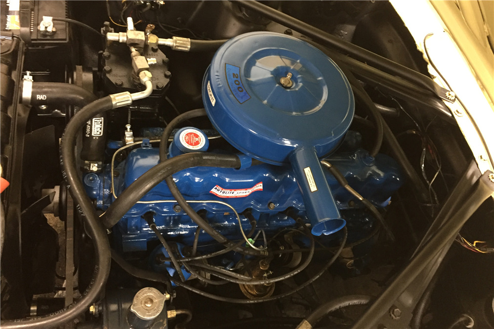 1966 FORD MUSTANG CONVERTIBLE - Engine - 217987