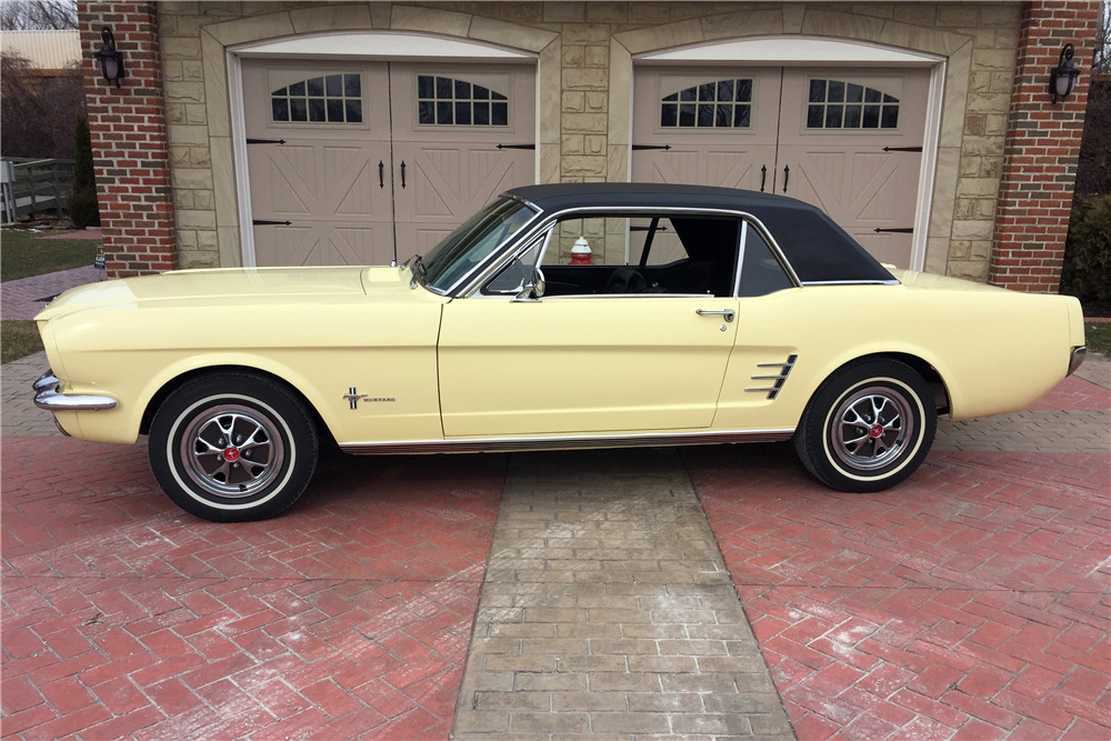 1966 FORD MUSTANG - Side Profile - 217988