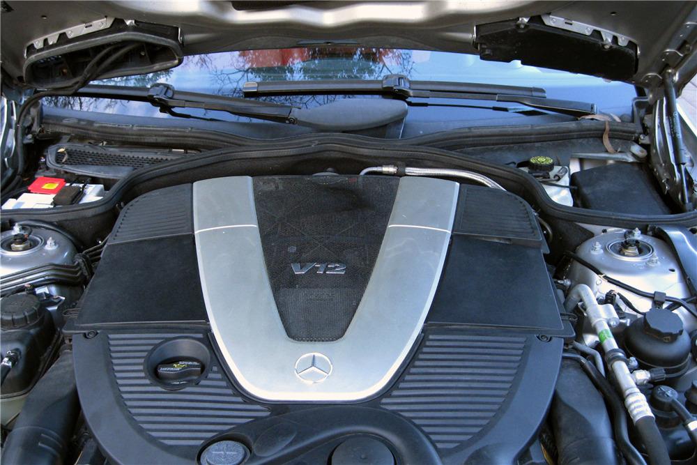 2006 MERCEDES-BENZ SL600 ROADSTER - Engine - 217995
