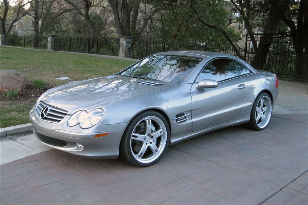 2006 MERCEDES-BENZ SL600 ROADSTER - Front 3/4 - 217995
