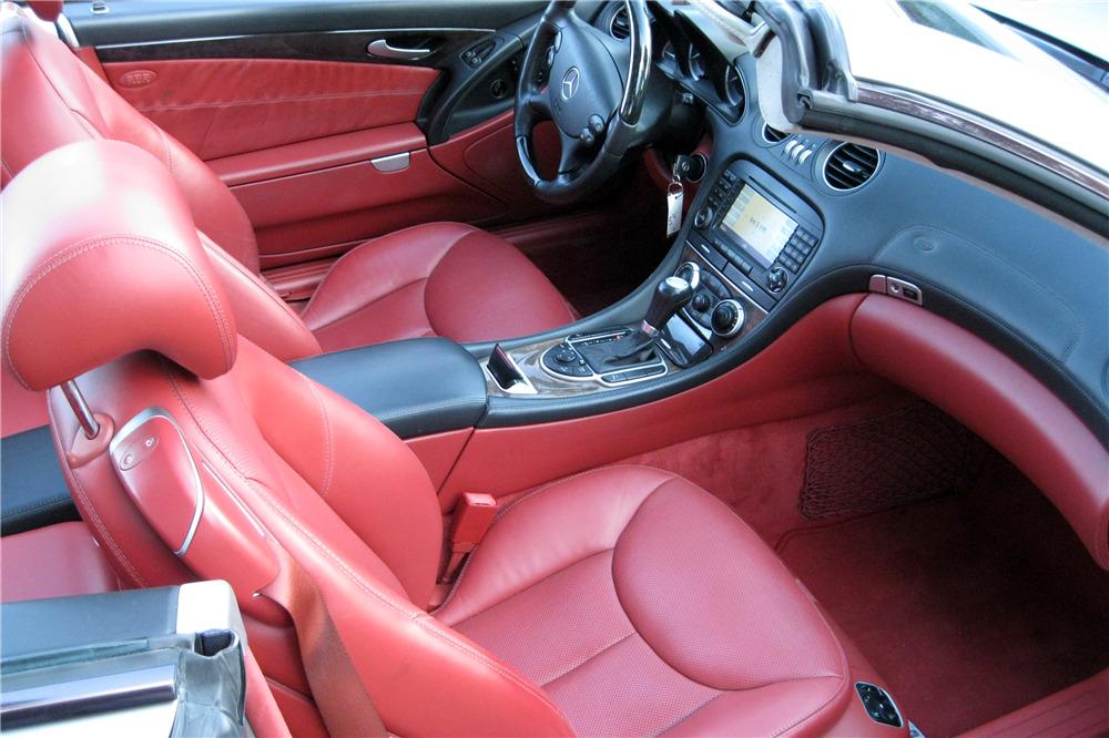 2006 MERCEDES-BENZ SL600 ROADSTER - Interior - 217995