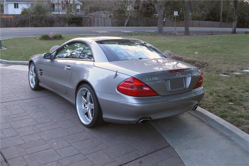 2006 MERCEDES-BENZ SL600 ROADSTER - Rear 3/4 - 217995