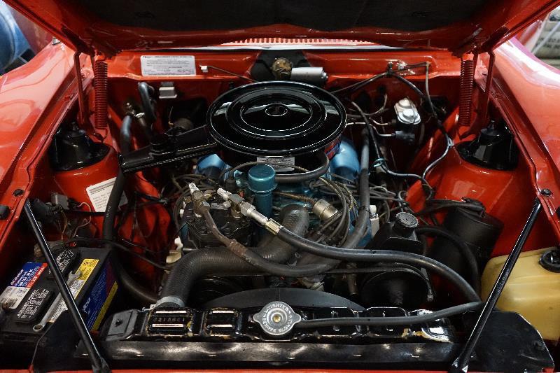1972 AMC JAVELIN SST - Engine - 218000