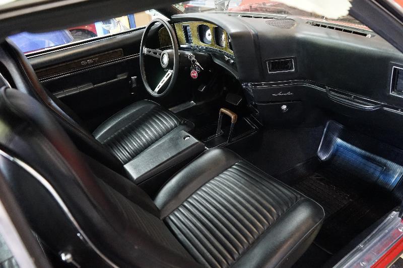 1972 AMC JAVELIN SST - Interior - 218000