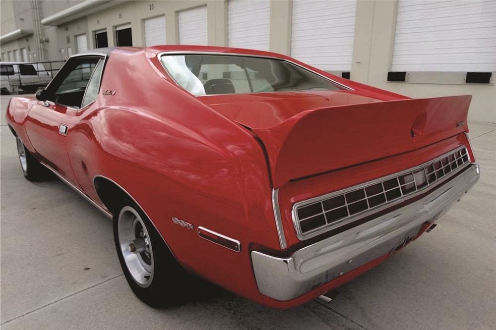1972 AMC JAVELIN SST - Rear 3/4 - 218000