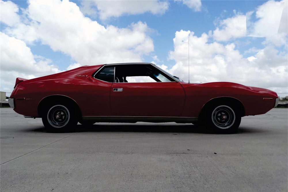 1972 AMC JAVELIN SST - Side Profile - 218000