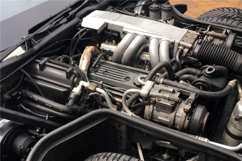 1989 CHEVROLET CORVETTE T-TOP COUPE - Engine - 218009