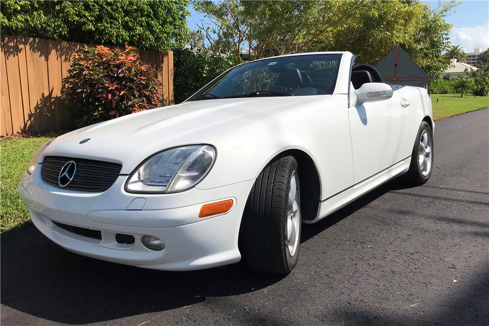 2001 MERCEDES-BENZ SLK320 ROADSTER - 218018