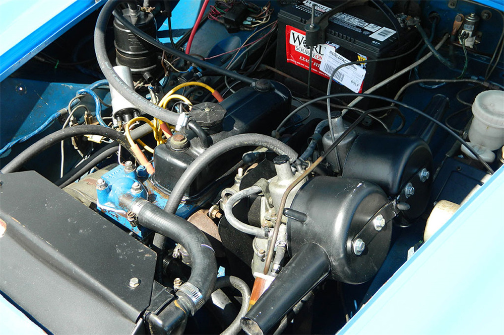 1974 MG MIDGET CONVERTIBLE - Engine - 218044