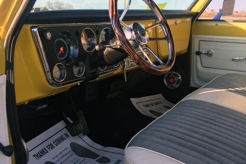 1972 CHEVROLET C10 PICKUP - Interior - 218049
