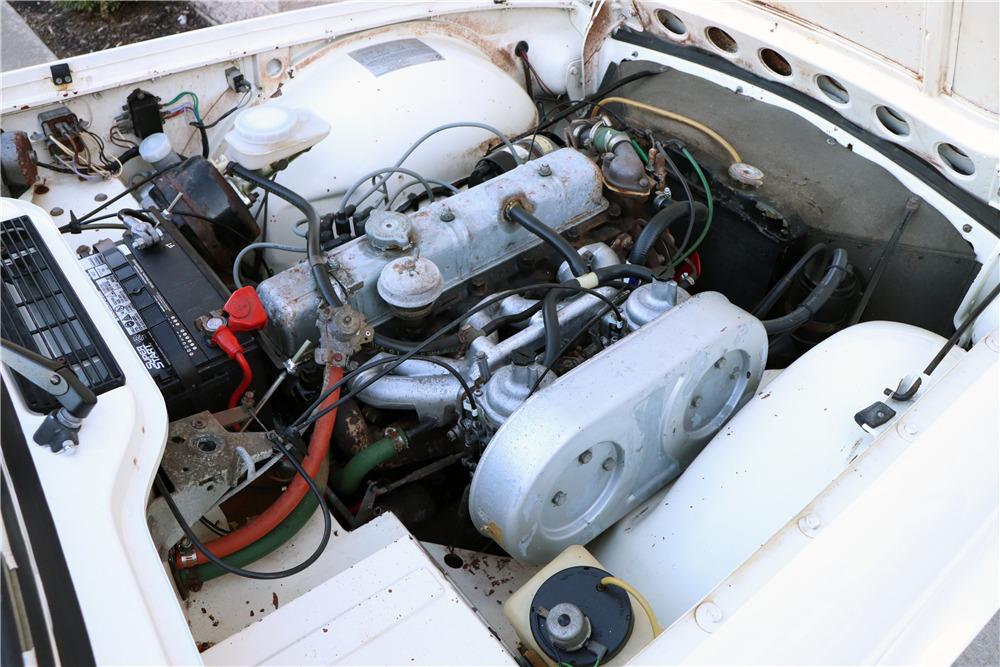 1974 TRIUMPH TR6 CONVERTIBLE - Engine - 218056