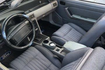 1991 FORD MUSTANG GT CUSTOM CONVERTIBLE - Interior - 218062