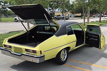 1973 OLDSMOBILE OMEGA - Rear 3/4 - 218089