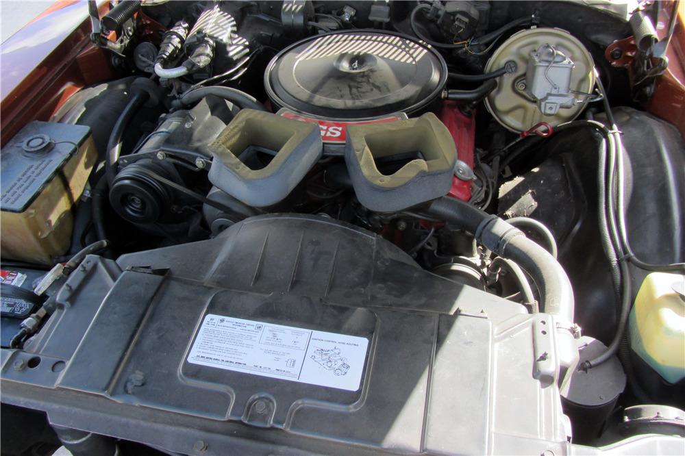 1971 BUICK GRAN SPORT CONVERTIBLE - Engine - 218146