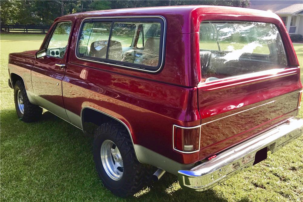 1980 GMC JIMMY - Rear 3/4 - 218165