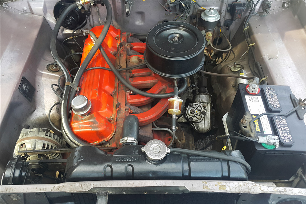 1966 PLYMOUTH VALIANT CONVERTIBLE - Engine - 218169