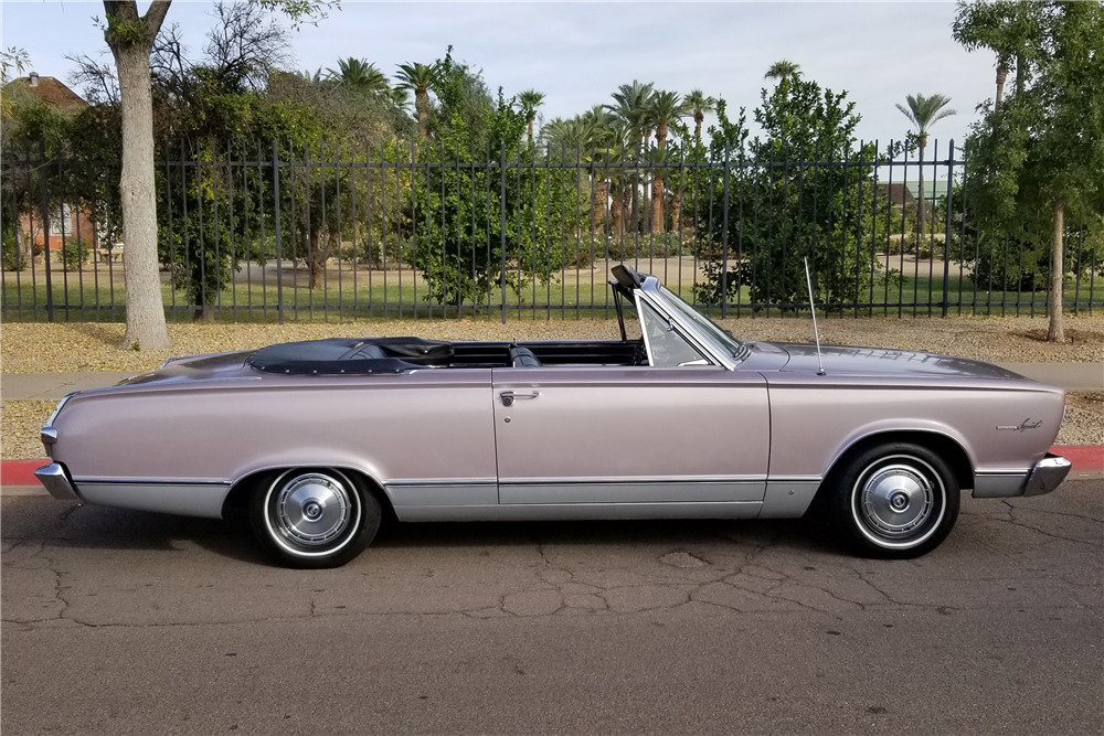 1966 PLYMOUTH VALIANT CONVERTIBLE - Misc 1 - 218169