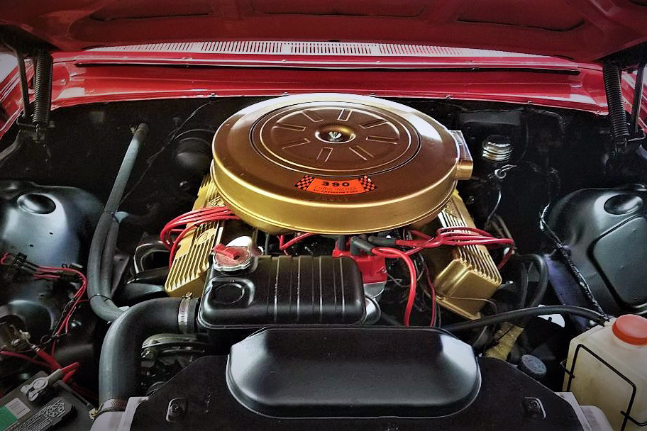 1962 FORD GALAXIE 500 - Engine - 218176