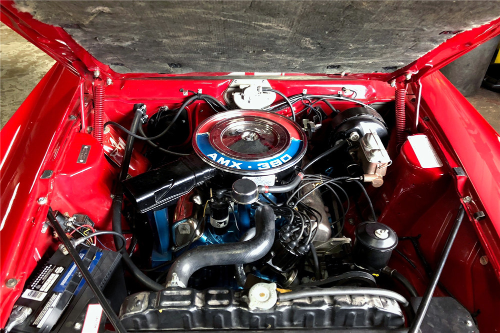 1968 AMC AMX - Engine - 218211