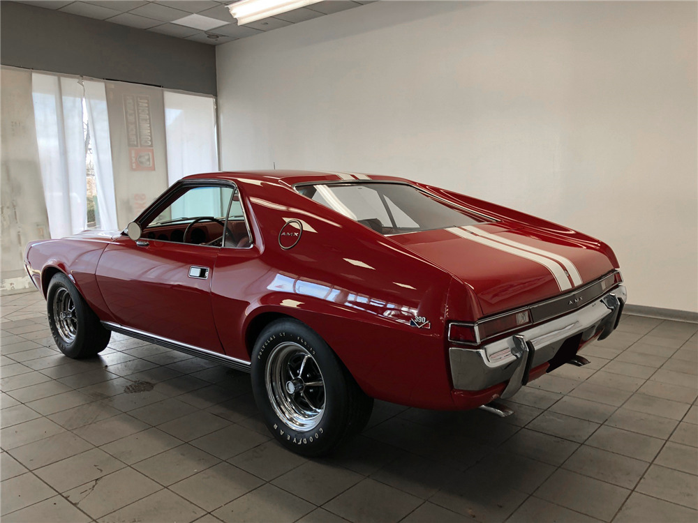 1968 AMC AMX - Rear 3/4 - 218211