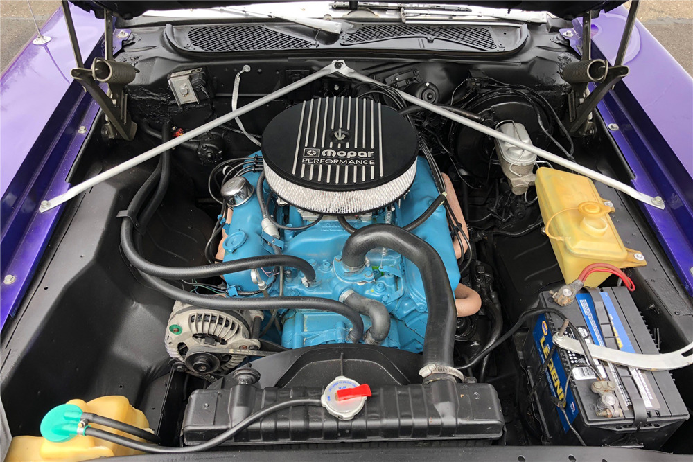 1974 PLYMOUTH ROAD RUNNER - Engine - 218212