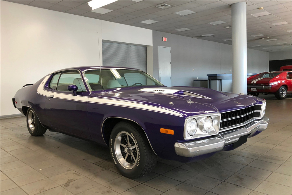 1974 PLYMOUTH ROAD RUNNER - Front 3/4 - 218212