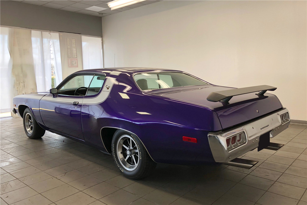 1974 PLYMOUTH ROAD RUNNER - Rear 3/4 - 218212