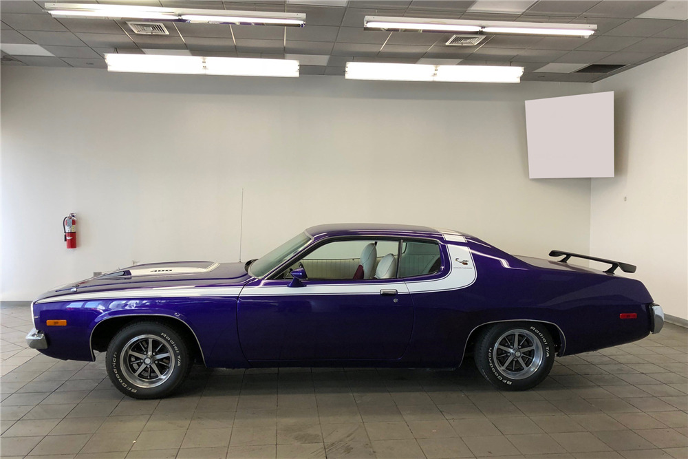 1974 PLYMOUTH ROAD RUNNER - Side Profile - 218212