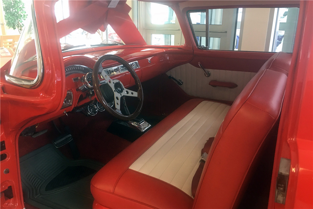 1957 FORD RANCHERO CUSTOM PICKUP - Interior - 218214