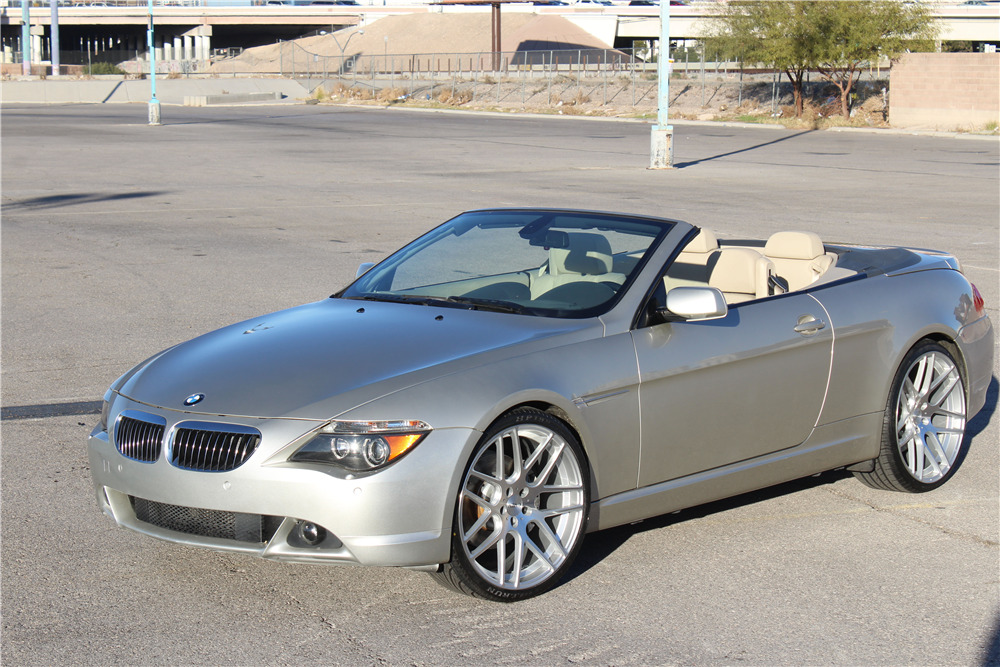 2005 BMW 645 CONVERTIBLE - Front 3/4 - 218224