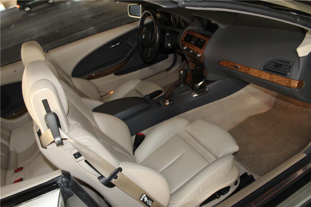 2005 BMW 645 CONVERTIBLE - Interior - 218224