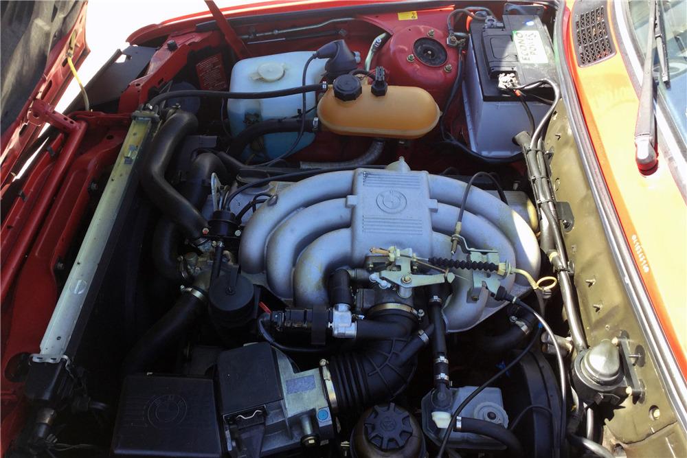 1987 BMW 325i CONVERTIBLE - Engine - 218244