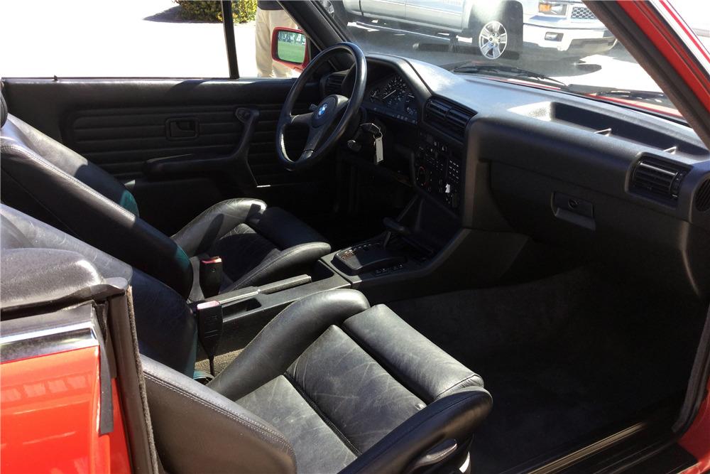 1987 BMW 325i CONVERTIBLE - Interior - 218244