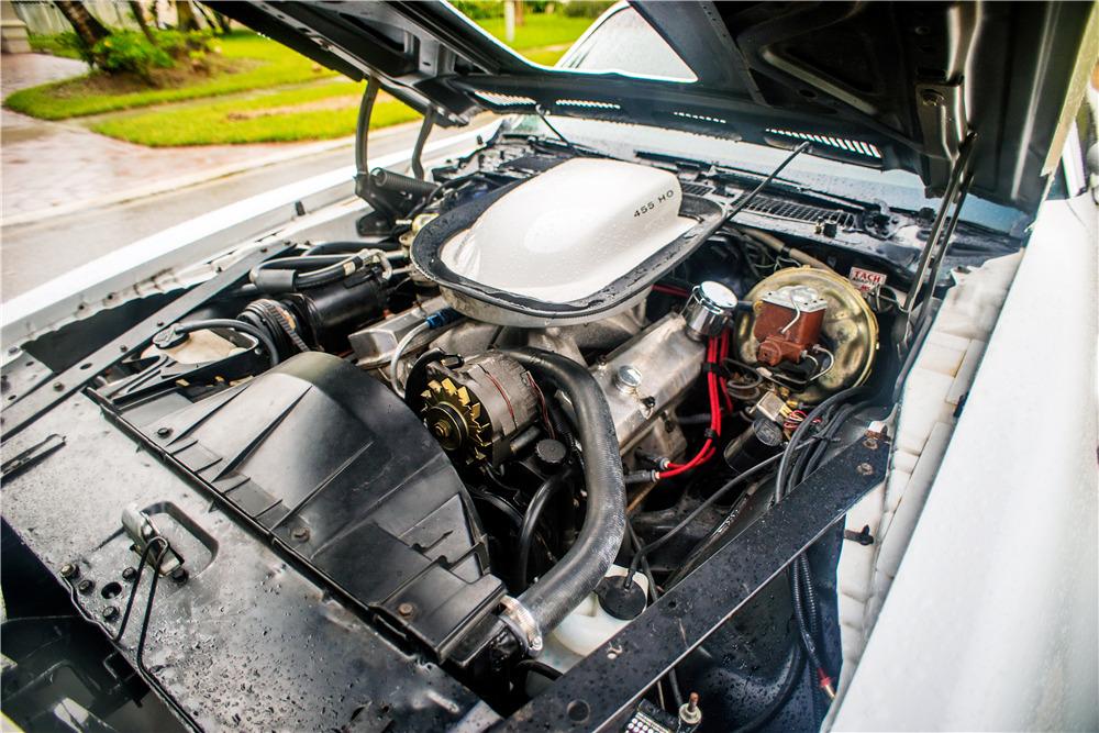 1974 PONTIAC FIREBIRD TRANS AM COUPE - Engine - 218309