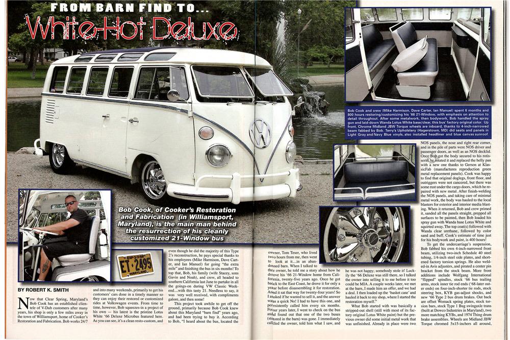 1966 VOLKSWAGEN 21-WINDOW CUSTOM MICROBUS - Misc 2 - 218318
