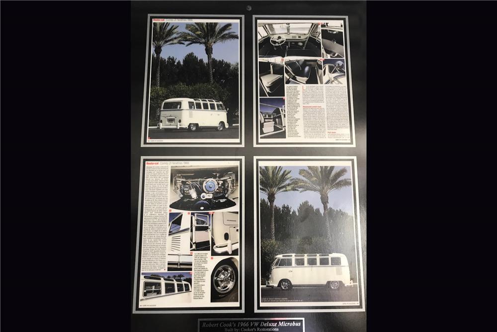 1966 VOLKSWAGEN 21-WINDOW CUSTOM MICROBUS - Misc 10 - 218318