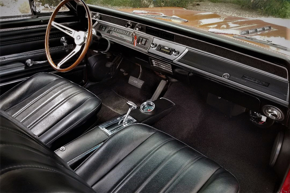 1966 CHEVROLET CHEVELLE SS CUSTOM COUPE - Interior - 218373