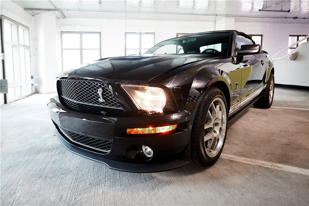 2007 FORD SHELBY GT500 CONVERTIBLE - Front 3/4 - 218456