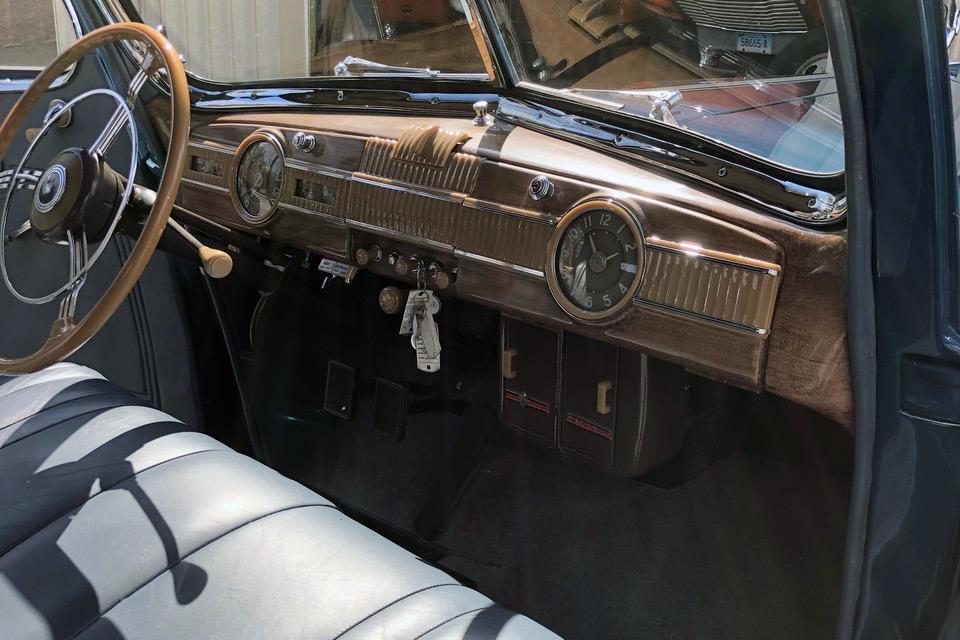 1940 PACKARD SUPER 8 1803 - Interior - 218958