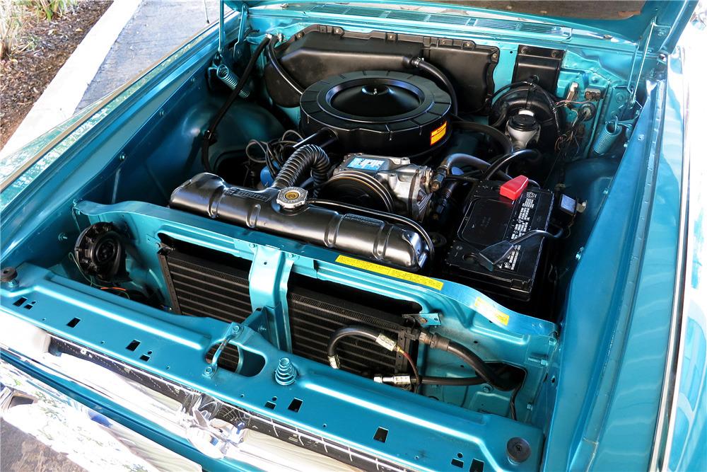 1963 CHRYSLER 300J PACE SETTER CONVERTIBLE - Engine - 219037