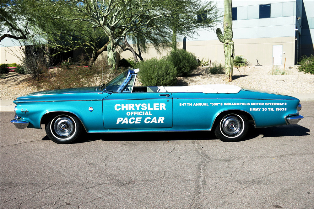 1963 CHRYSLER 300J PACE SETTER CONVERTIBLE - Front 3/4 - 219037